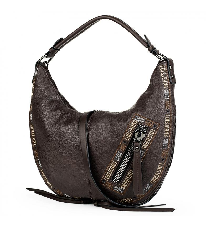 Comprar Lois Saco de ombro estilo Hobo 304748 -39x25x9cm- castanho