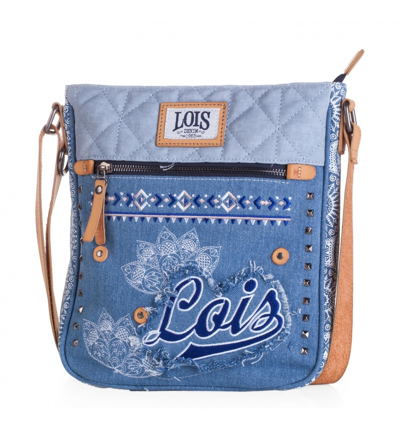 Comprar Lois Lois Austin shoulder bag blue color -27x25x5-