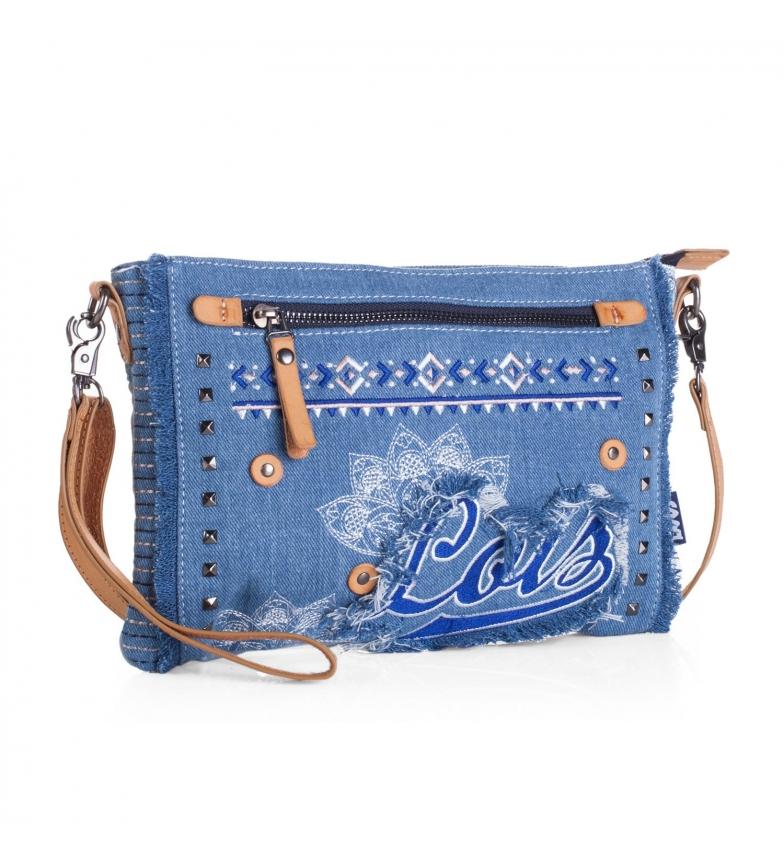 Comprar Lois Lois Austin borsa a tracolla blu -19x29x29x5-