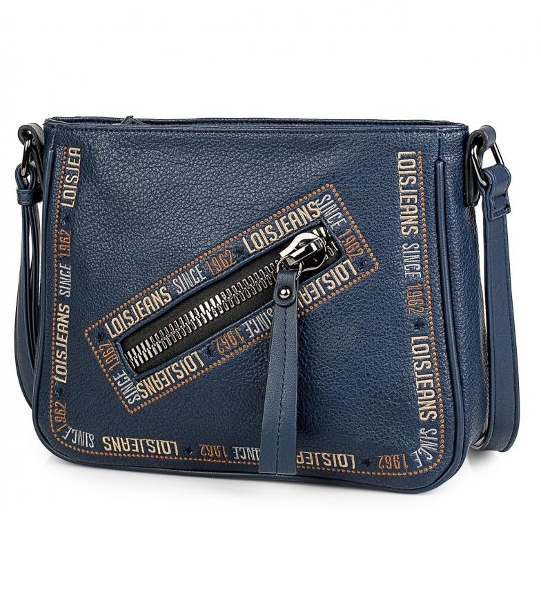 Lois Bolso bandolera 304730 -26x21x8cm- azul