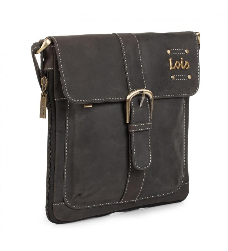 Comprar Lois Bolso Bandolera piel Lois Lousiana color negro -21x22x5-