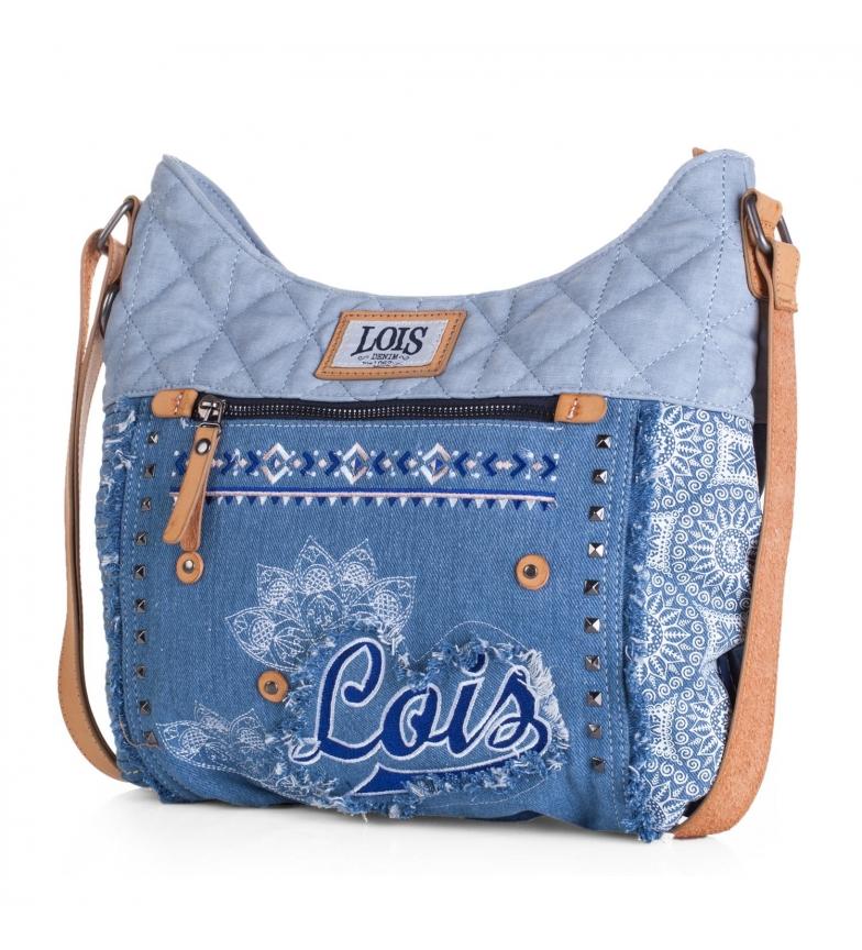 Comprar Lois Bolso bandolera tipo shopping Lois Austin color azul -35x38x6-