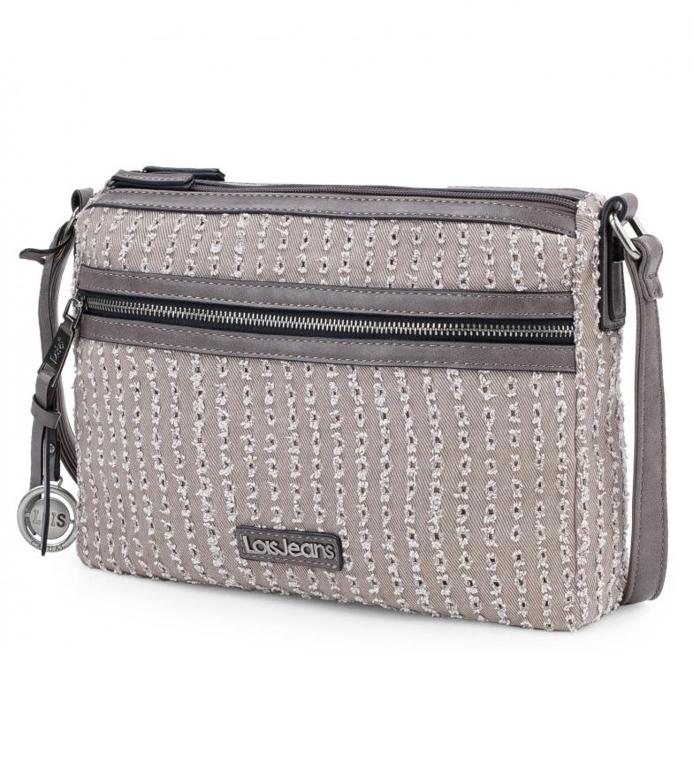 Comprar Lois 306649 shoulder bag -30x22x6,5cm- beige