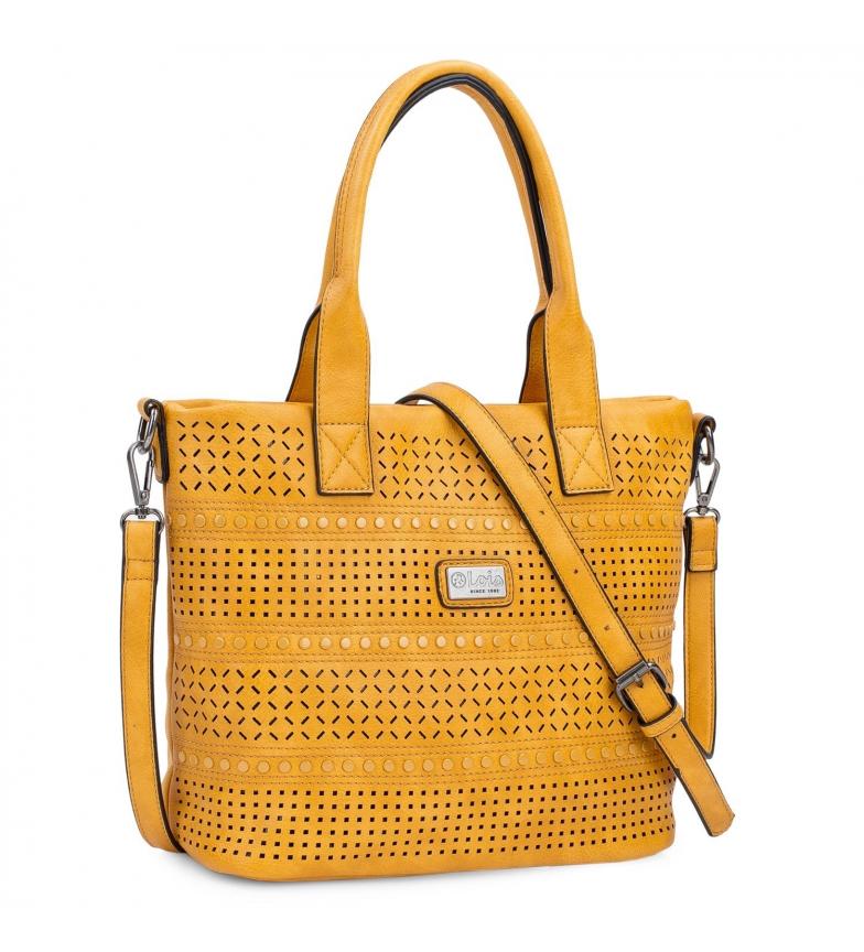 Comprar Lois Saco de mostarda conversível 306781 -33x25x14cm- Mostarda