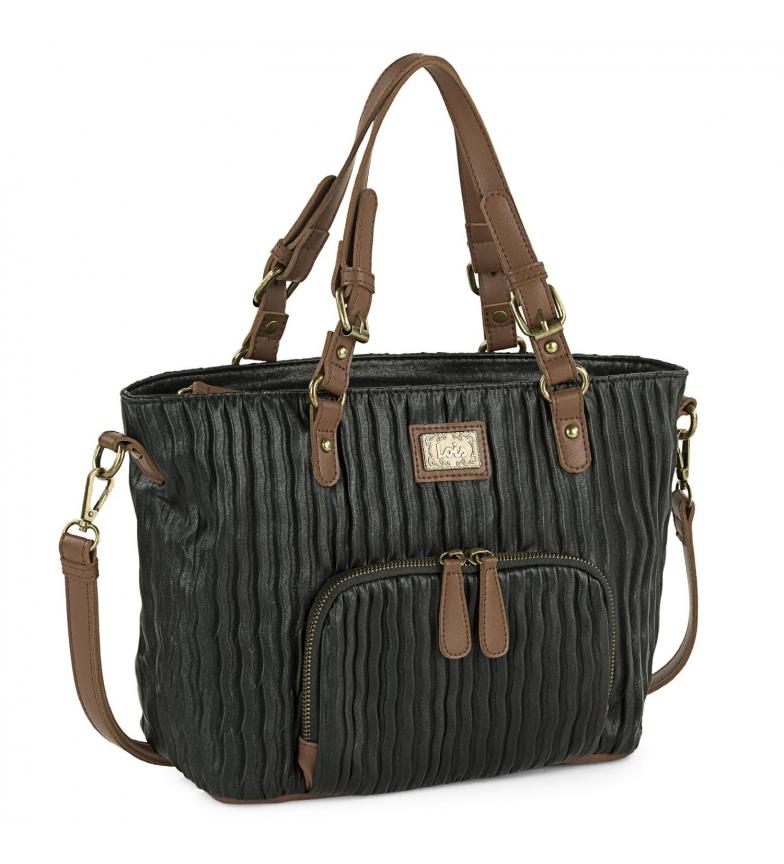 Lois Borsa della spesa 308181 nera -35x23x12cm