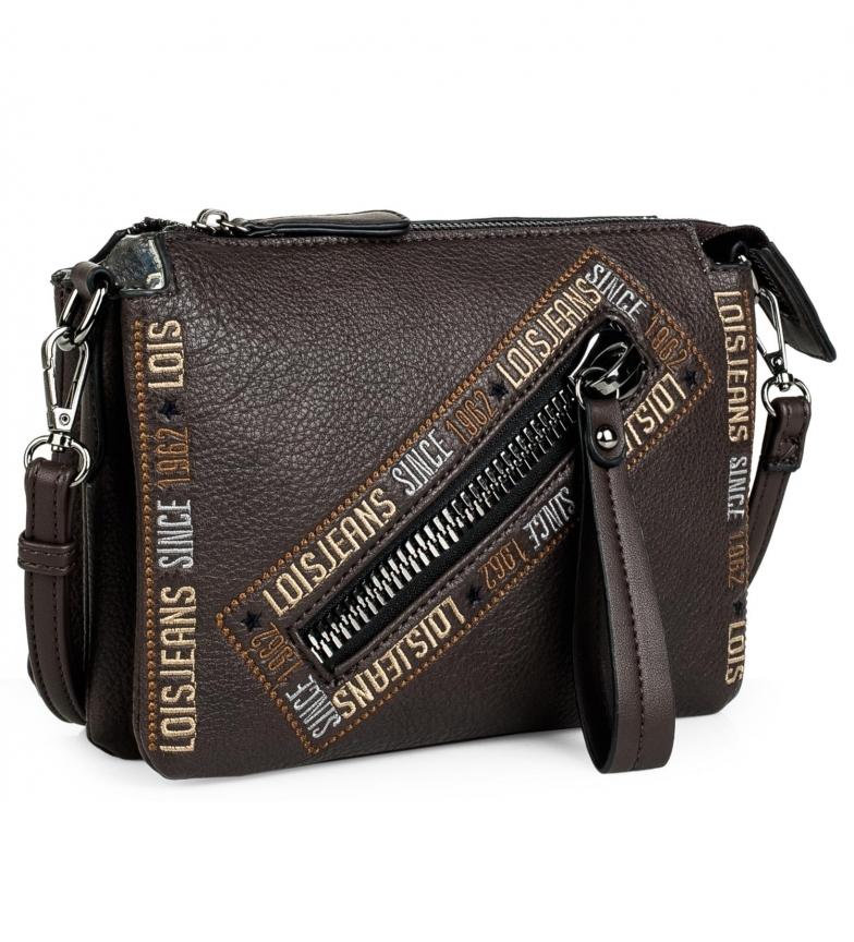 Lois Small shoulder bag 304715 -23x17x5cm- brown