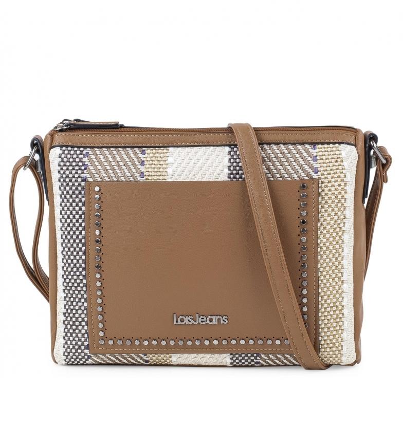 Comprar Lois Bolsa Pequena 308049 camelo -30x29x6,5cm