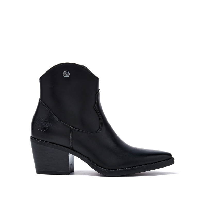 Comprar Lois Ankle boots 85720 black -Heel height: 5 cm