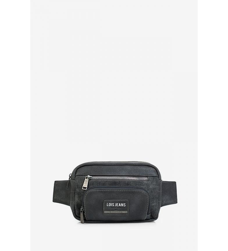 Comprar Lois Riñonera Teslin negro -21x14x5cm-