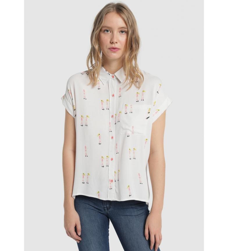 Comprar Lois Pocket Skater Shirt white