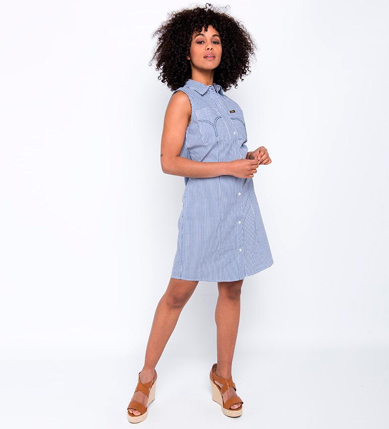 Lois Vestido Patti Smitch azul