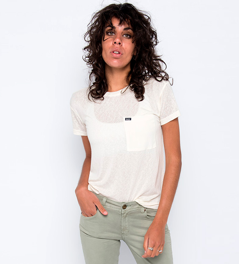 Lois Camiseta Carla Gato blanco