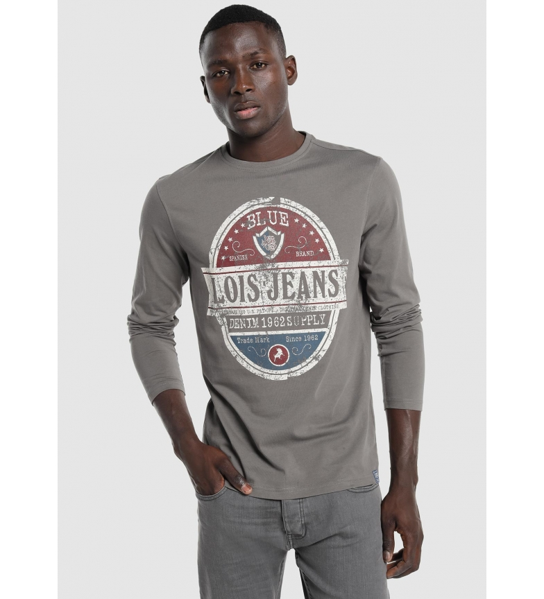 Comprar Lois Frontal Graphic T-shirt grey