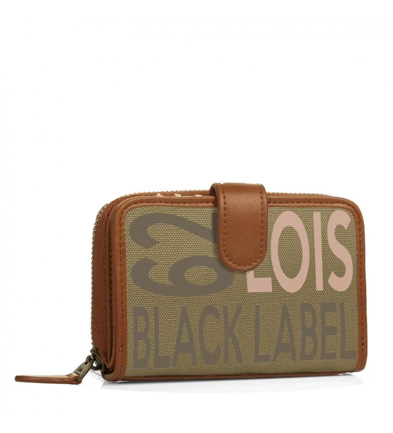 Comprar Lois Lois Bismarck khaki wallet -9x14x3-