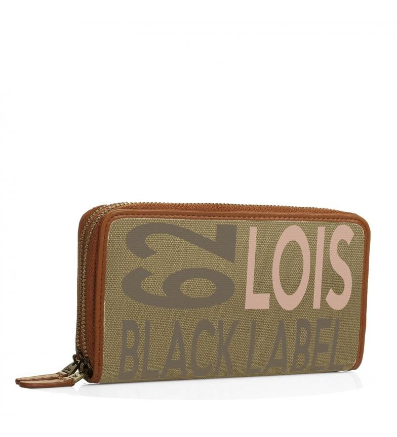 Comprar Lois Lois Bismarck khaki wallet -10x19x3-