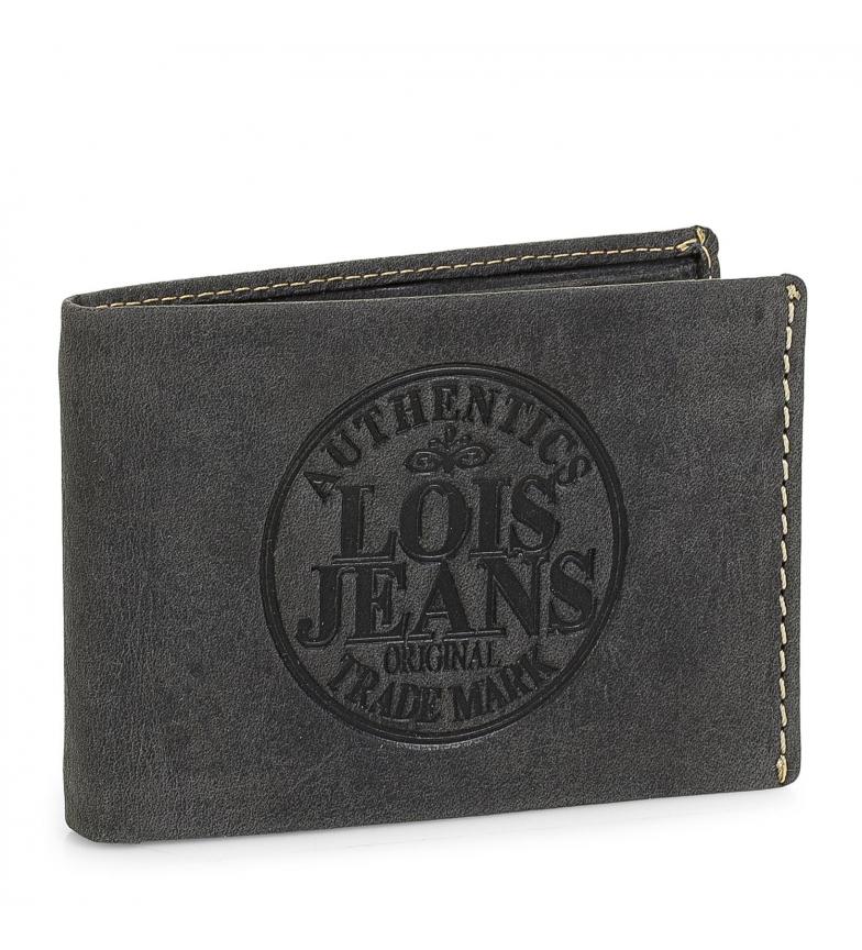 Comprar Lois Cartera de piel 12386 negro -11x7,5cm-
