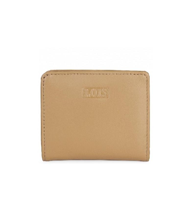Comprar Lois Carteira de couro 202044 camelo -10x8,7cm