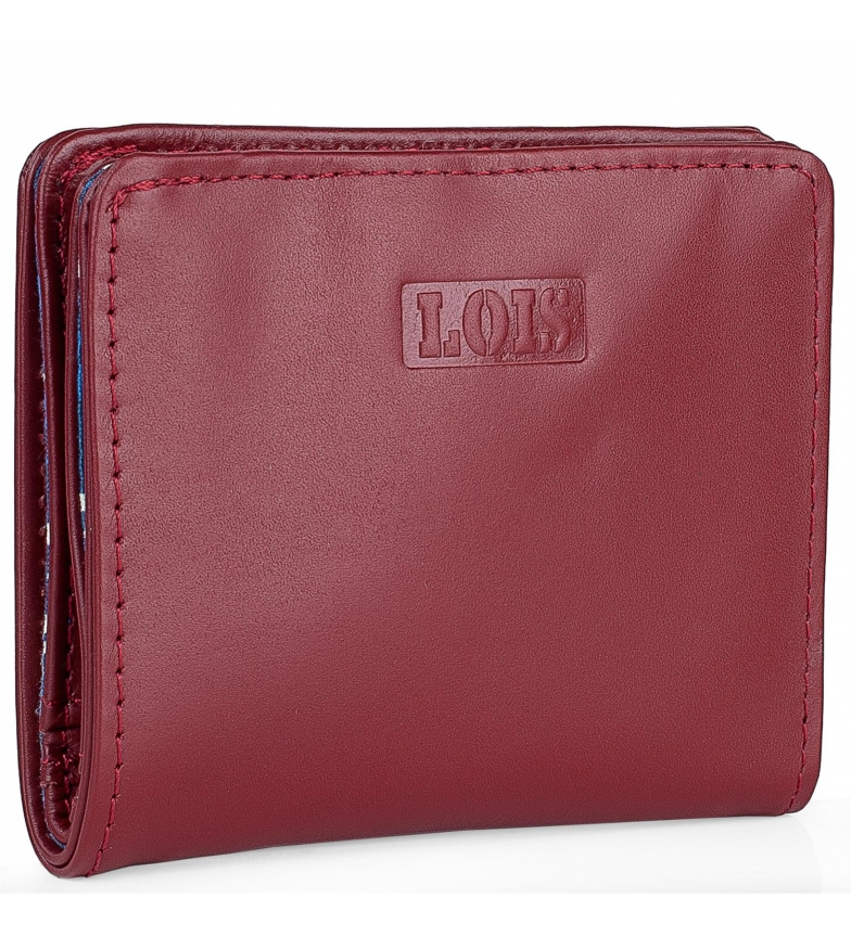Comprar Lois Carteira de couro 202044 vermelho -10x8,7cm