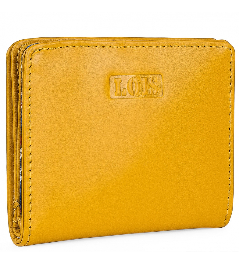 Comprar Lois Leather wallet 202044 ochre -10x8,7cm