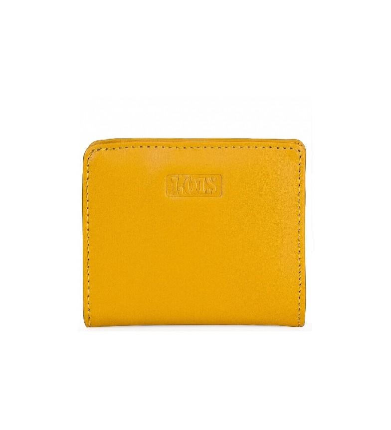 Comprar Lois Carteira de couro 202044 ochre -10x8,7cm