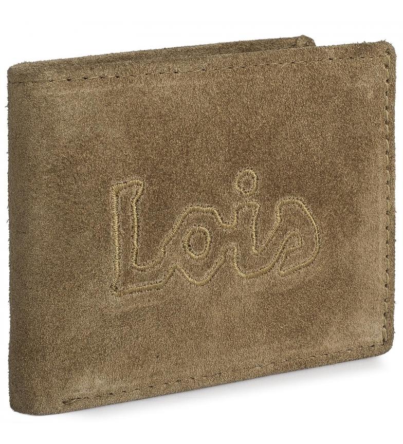 Comprar Lois Leather wallet 201211 camel -11x8cm