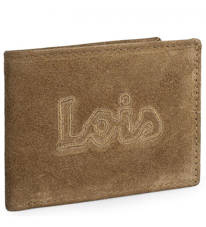 Comprar Lois Leather wallet 201201 camel -11,5x9cm