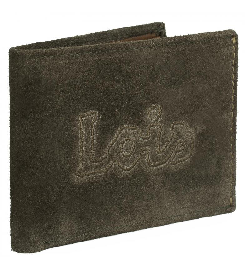 Comprar Lois Carteira de couro 201201 azeitona -11,5x9cm