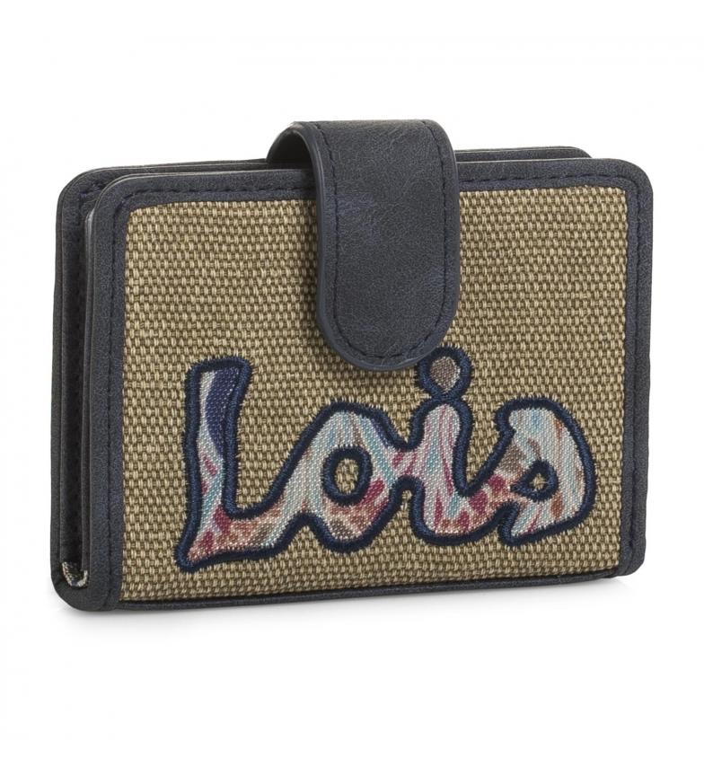 Comprar Lois Porte cartes Lois Juneau Pochette beige -7x10,5x3-