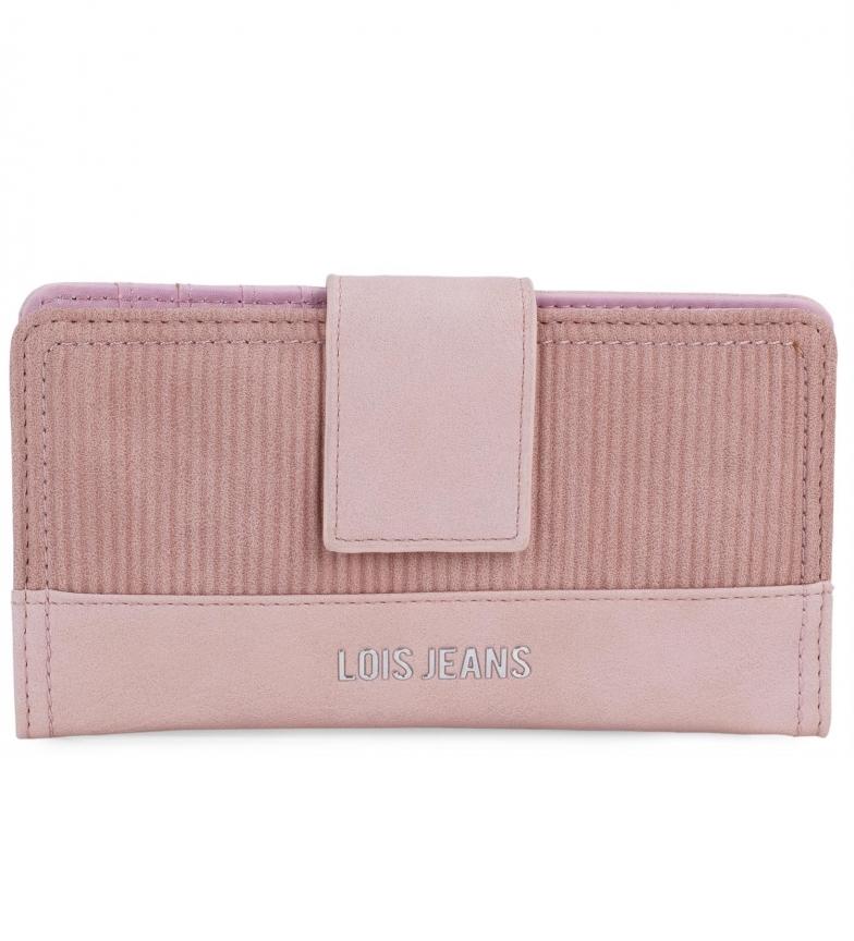 Lois Wallet 303712 pink -21,5x13x3 cm