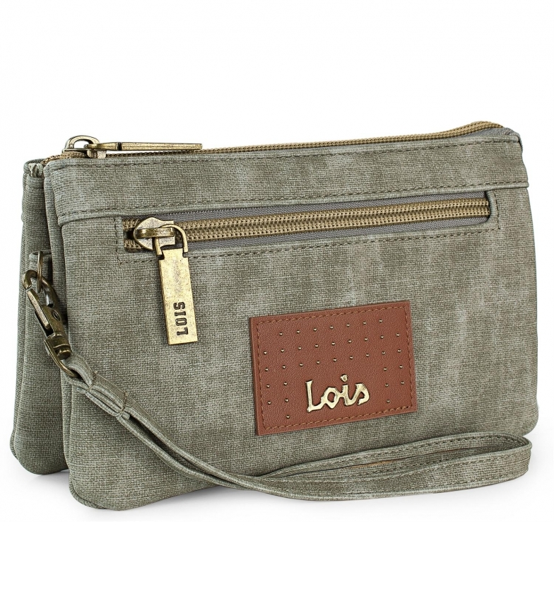 Lois Wallet 306219 -17,5x11x5cm- taupe