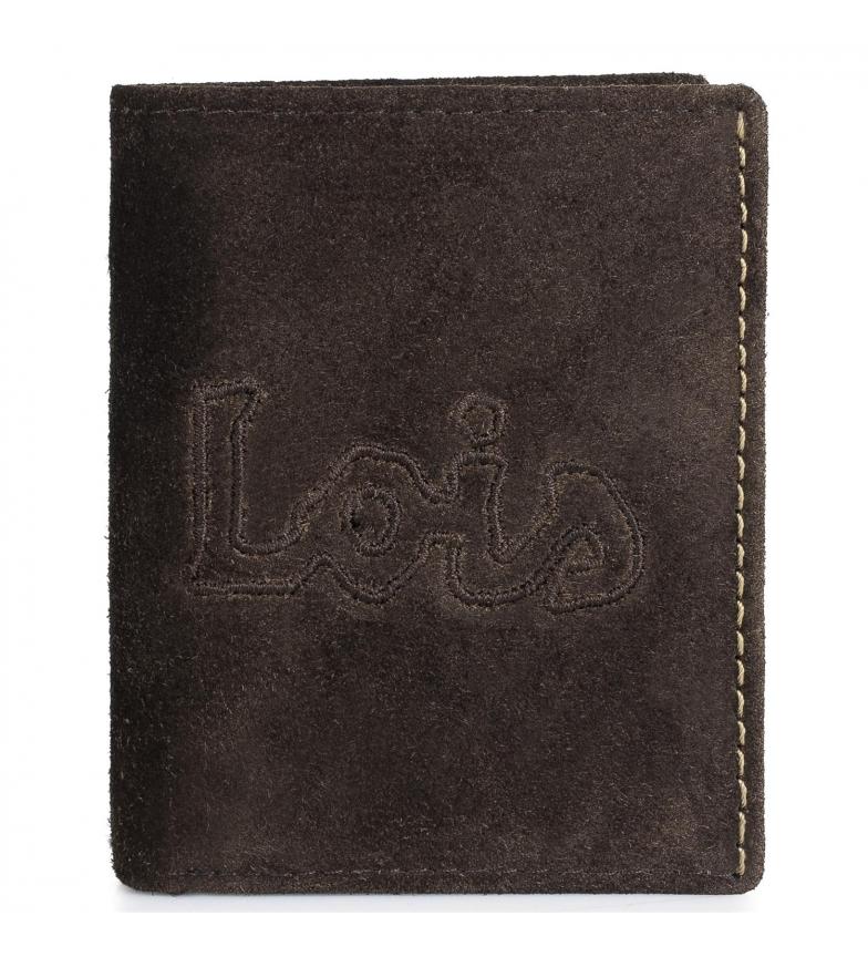 Comprar Lois Portefeuille en cuir 201214 marron -11x8 cm-.