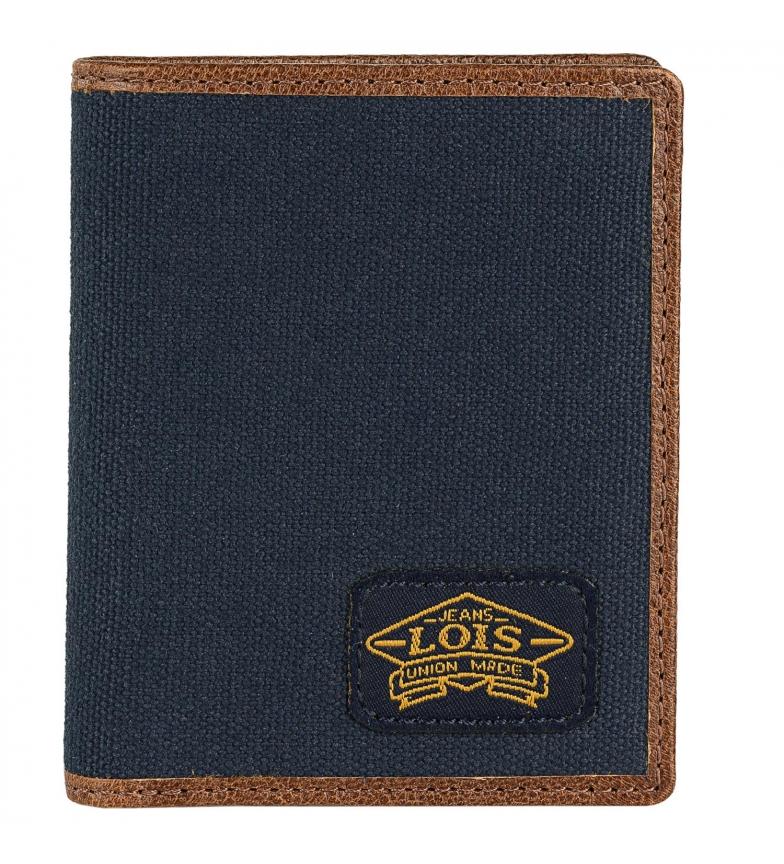 Comprar Lois Carteira de couro 203806 Marinha -8,5x 0,5x1,5 cm
