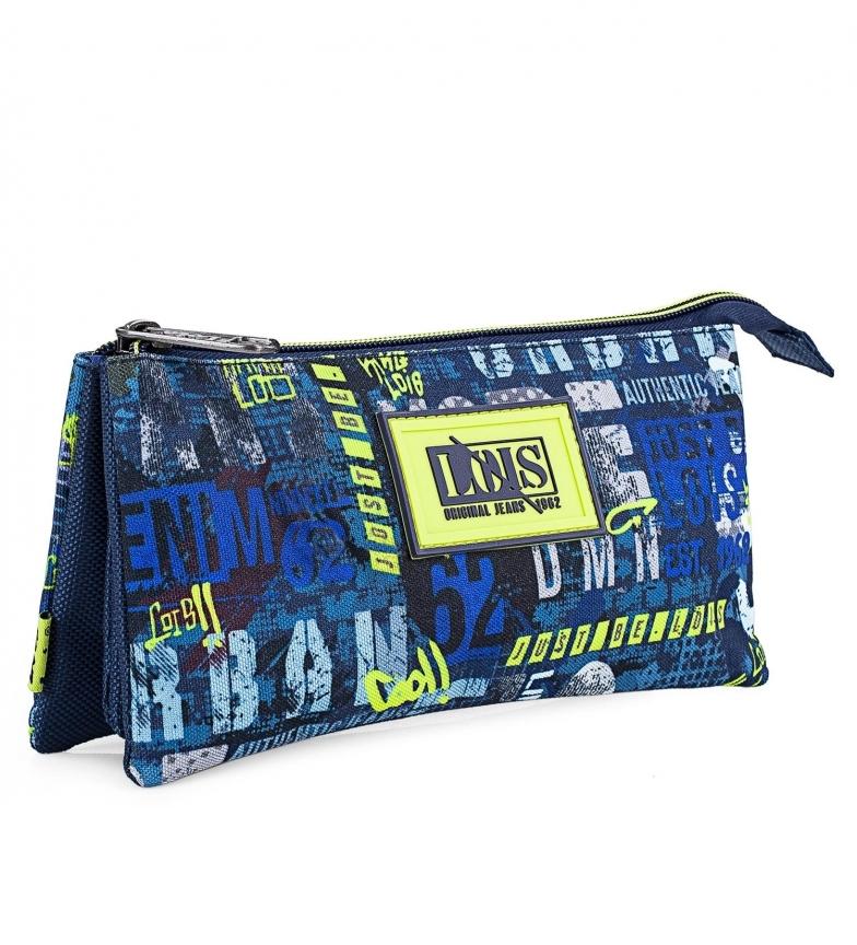 Comprar Lois Grand porte-crayon d'école en polyester imprimé pour garçons 131711 navy -23x11x3cm