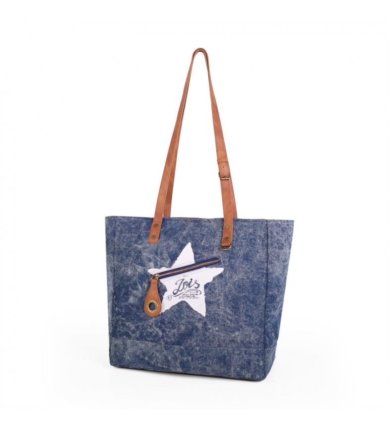 Comprar Lois LOIS Stars bag blue cowboy -36x37x17-
