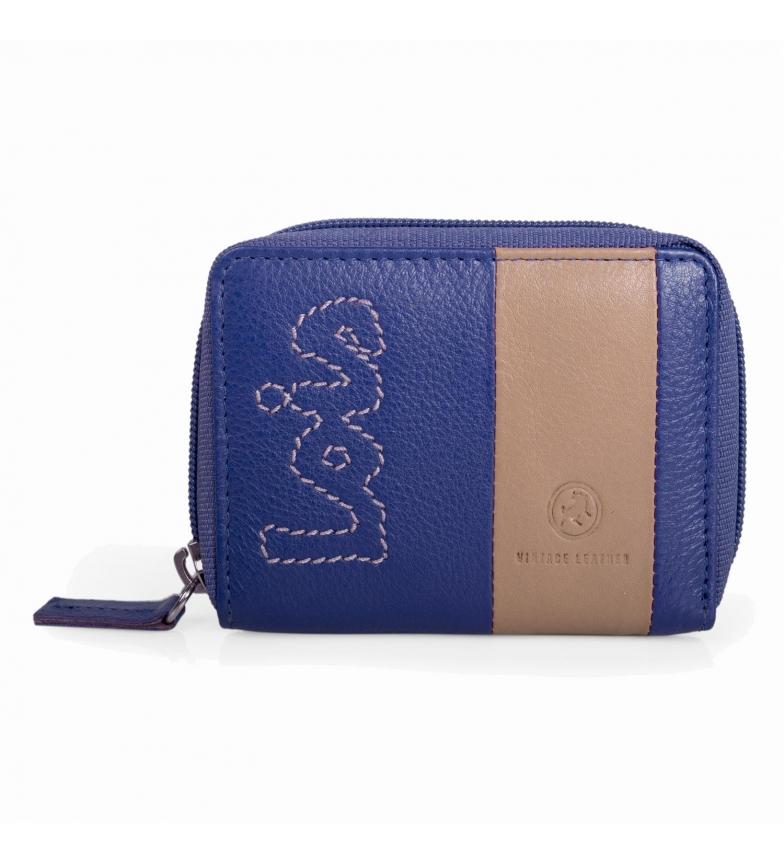 Comprar Lois LOIS Monedero de piel Colors color azul -8x10,5x2-