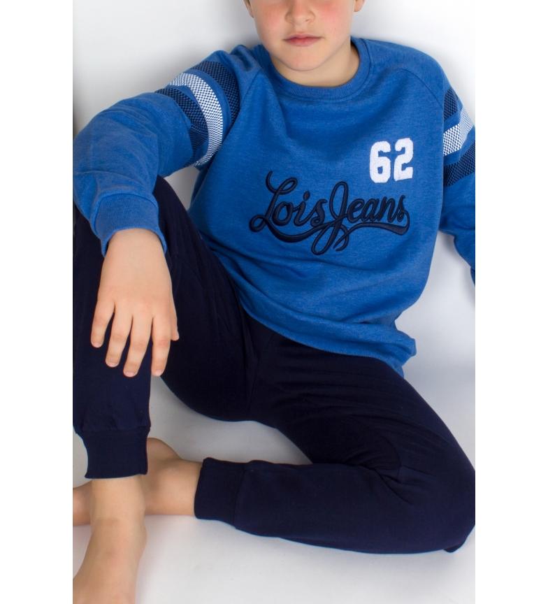 Comprar Lois Pyjama à manches longues Tween LS Bleu