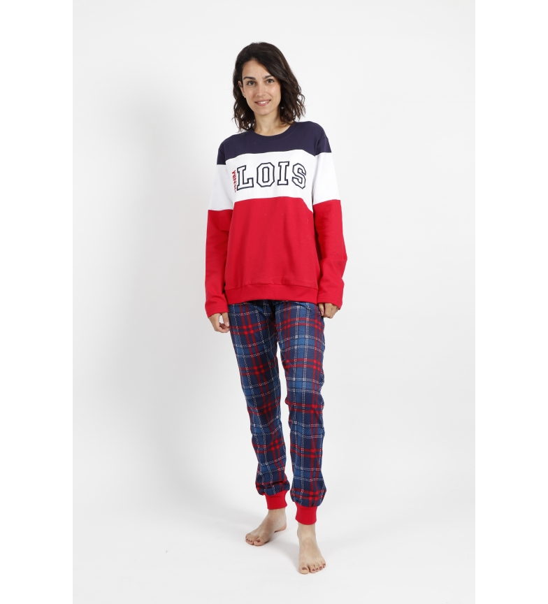 Comprar Lois Pajamas Long Sleeve Sport red