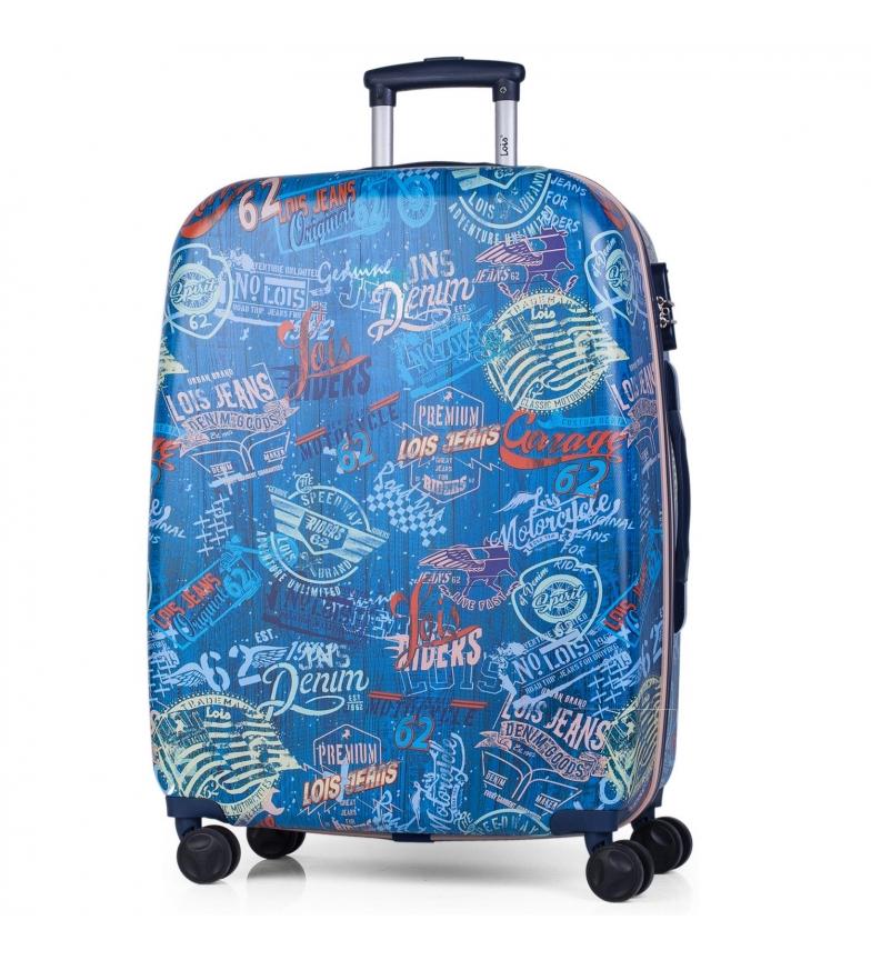 Comprar Lois Carrinho de viagem 60cm Lois Amsterdam Viagem azul marinho -70x45x25cm