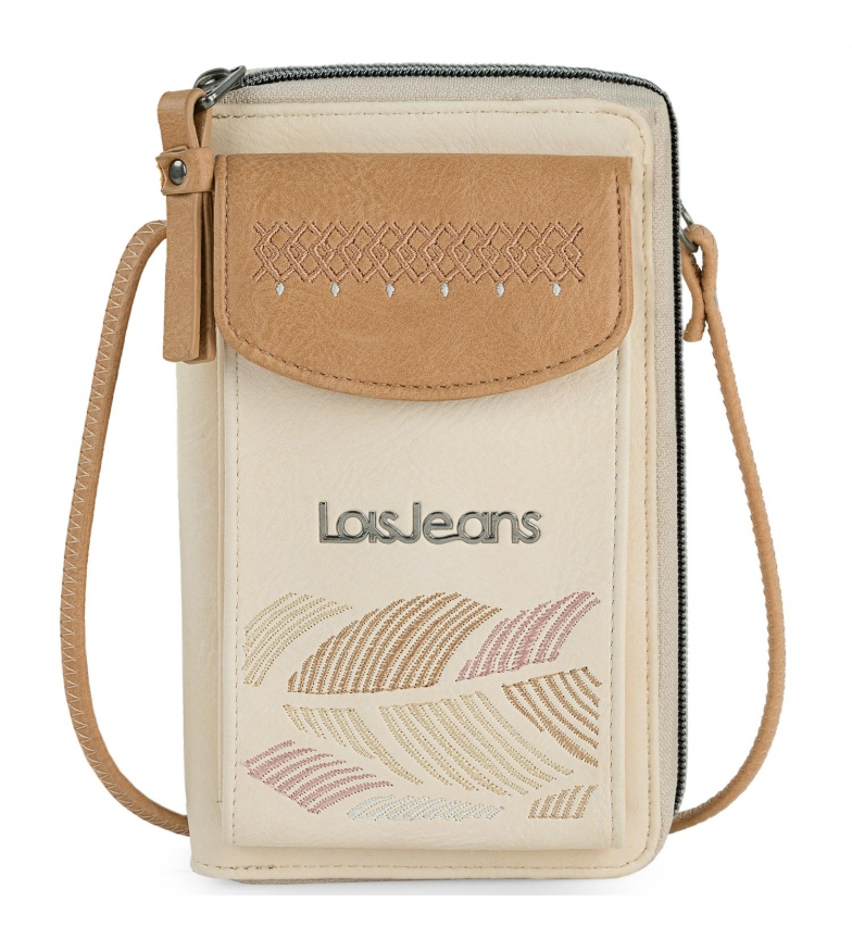 Comprar Lois Mini bolso Galatea beige, marrón - 11x18.5x2.5cm -