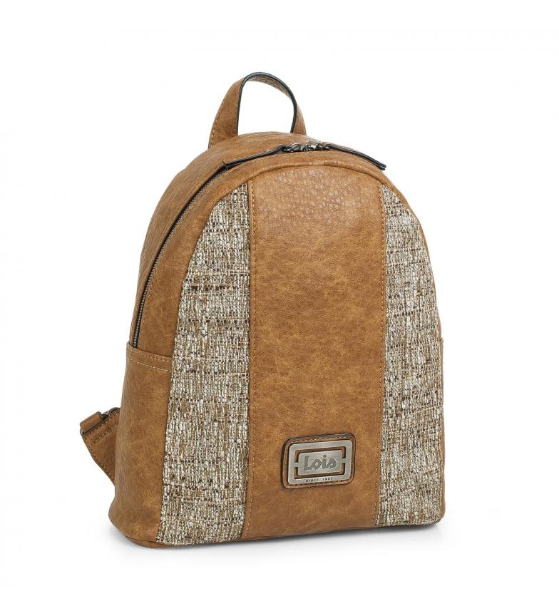 Comprar Lois Mochila Casual 302399 camel -28x26x10,5cm-