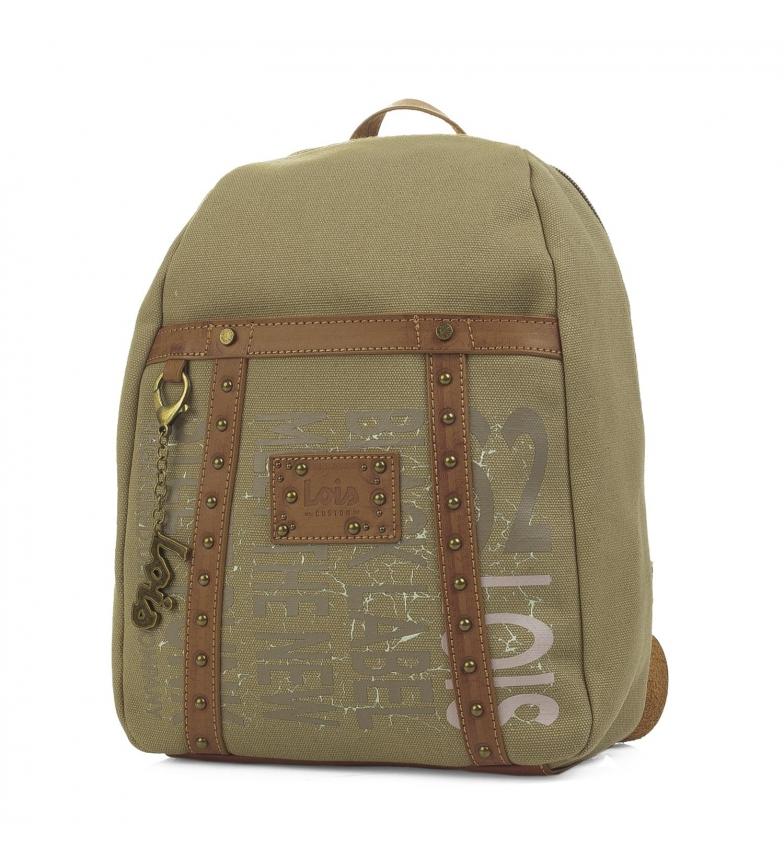 Comprar Lois Backpack Lois Bismarck khaki color -30x26x8,5-