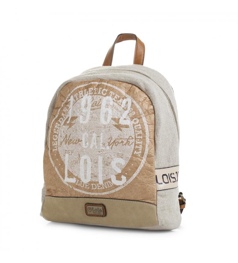 Comprar Lois Lois Columbus backpack beige color -31x28x11-