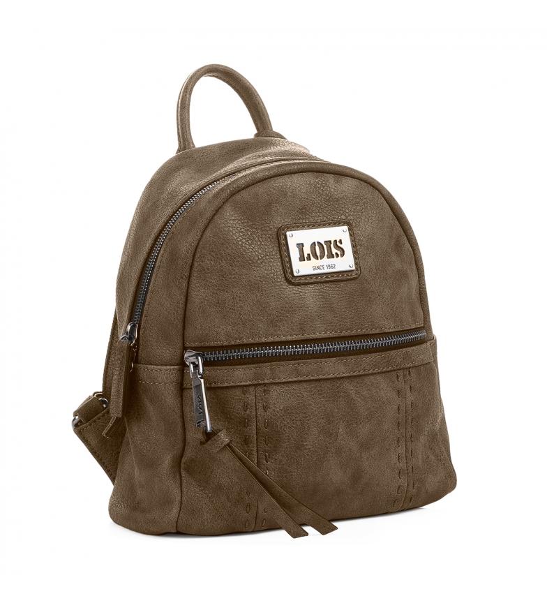 Comprar Lois Backpack Lois Detroit taupe color -23x25x10-