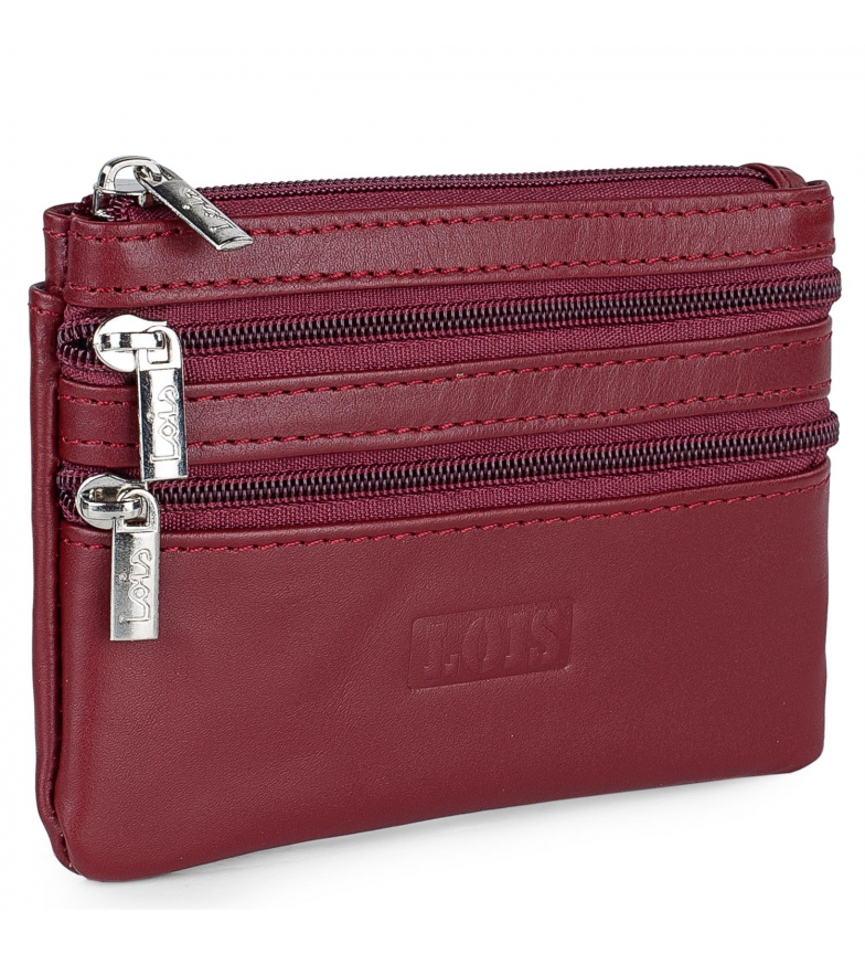 Comprar Lois Leather purse 202064 red -12x8,5cm
