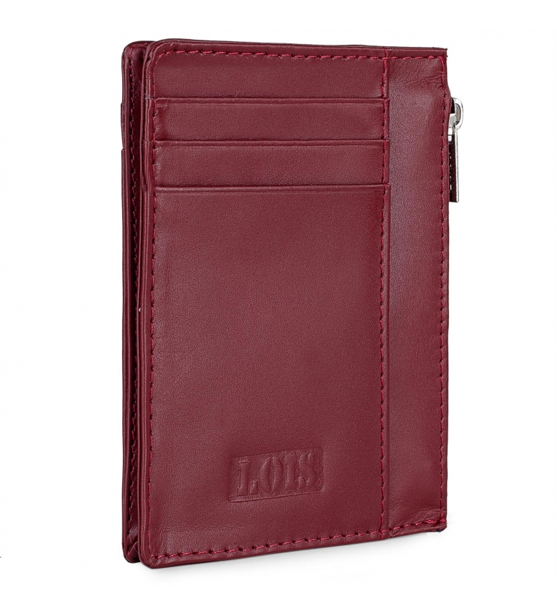 Comprar Lois Leather wallet 202004 red -8,3x11,3x1cm