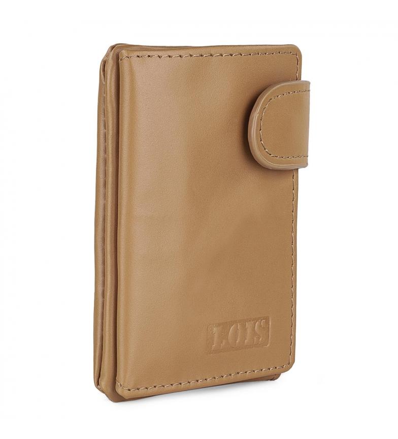 Comprar Lois Leather purse 202010 camel -10,8x7x1cm