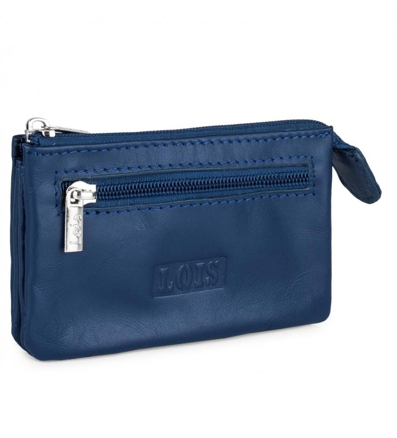 Comprar Lois Carteira de couro 202059 azul -10,5x6,5cm