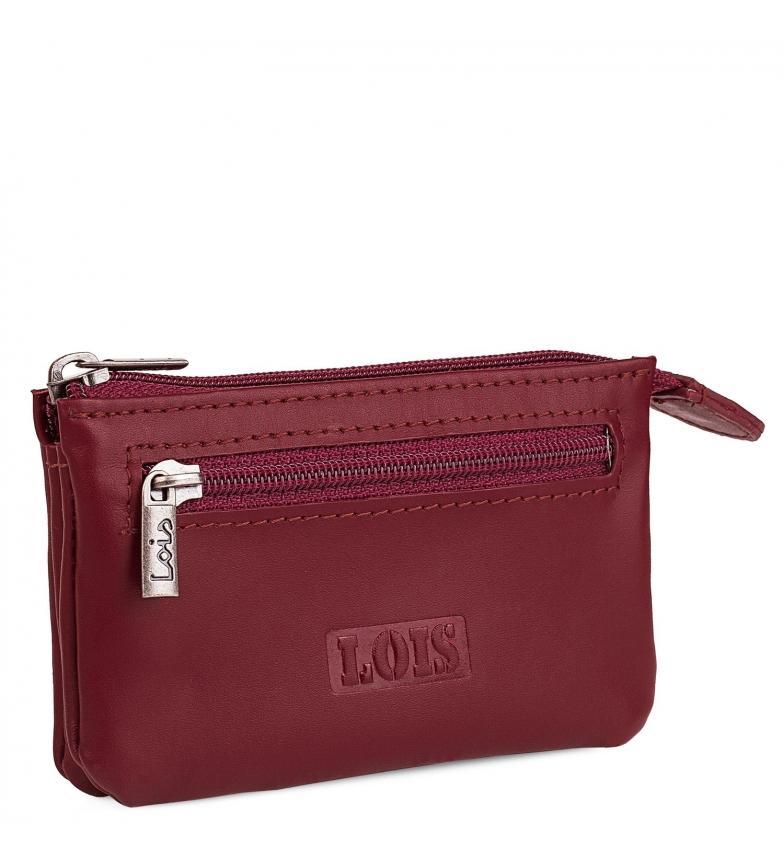 Comprar Lois Carteira de couro 202059 vermelho -10,5x6,5cm