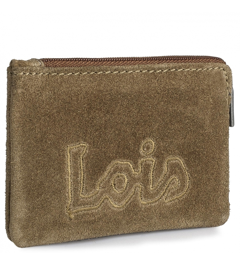 Comprar Lois Portafoglio in pelle 201202 cammello -11x7cm