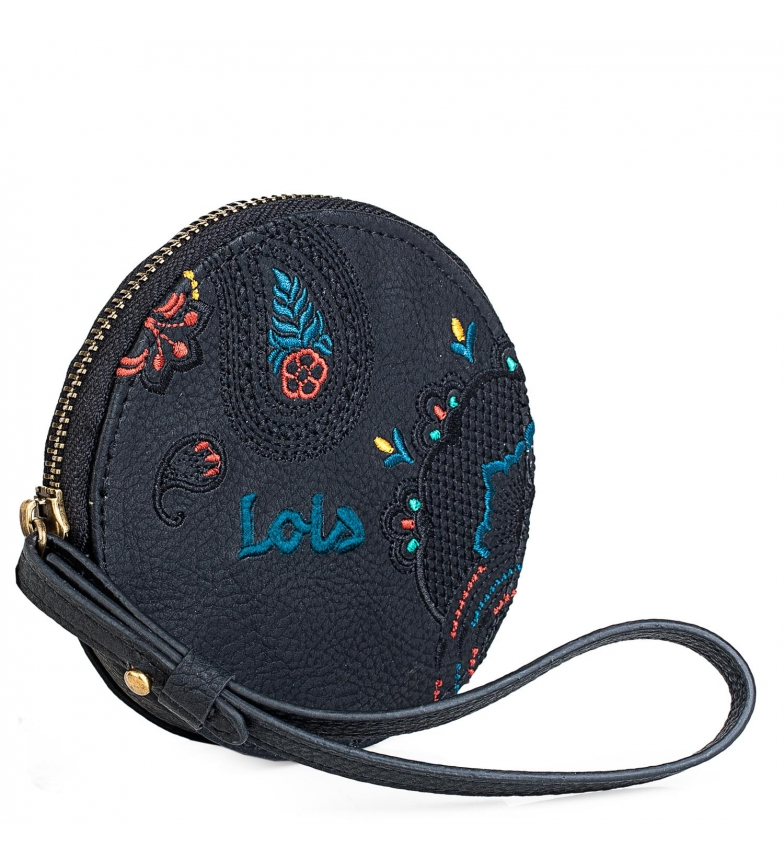 Comprar Lois Small Purse Ethnic Embroidery 302610 brown -11,5x11,5x1cm
